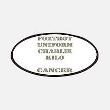 Foxtrot Uniform Charlie Kilo Cancer Patches