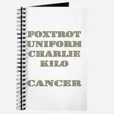 Foxtrot Uniform Charlie Kilo Cancer Journal