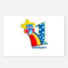 Cute Birthday First Birthday Postcards (Package of