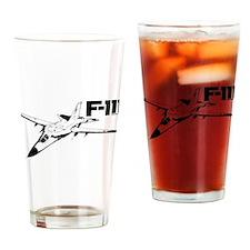 F-111 Aardvark Drinking Glass