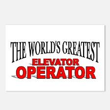 """The World's Greatest Elevator Operator"" Postcards"