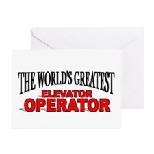 """The World's Greatest Elevator Operator"" Greeting"