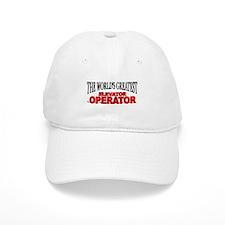"""The World's Greatest Elevator Operator"" Cap"