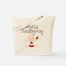 Babys 1st Thanksgiving Tote Bag