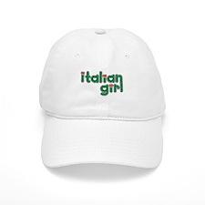 Italian Girl Baseball Cap