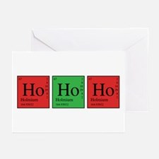 Chemistry Ho Ho Ho Greeting Cards (Pk of 20)