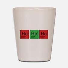 Chemistry Ho Ho Ho Shot Glass