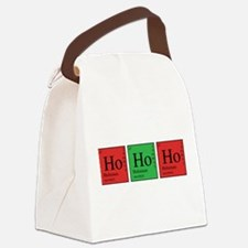 Chemistry Ho Ho Ho Canvas Lunch Bag