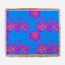 Cat Eyes Art Woven Blanket