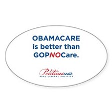 Cute Obamacare Decal