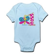 Butterfly First Birthday Infant Bodysuit