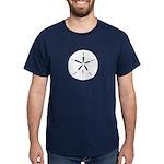 White Sand Dollar Dark T-Shirt