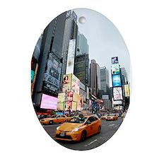 Super! Times Square New York - Pro Ornament (Oval)