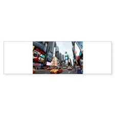 Super! Times Square New York - Pr Bumper Sticker