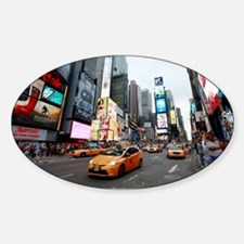 Super! Times Square New York - Pro Sticker (Oval)