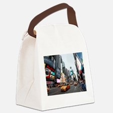Super! Times Square New York - Pr Canvas Lunch Bag