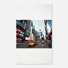 Super! Times Square New York - Pro Photo Area Rug