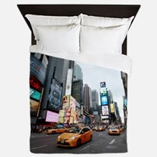 Super! Times Square New York - Pro Pho Queen Duvet