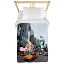 Super! Times Square New York - Pro Phot Twin Duvet