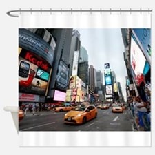 Super! Times Square New York - Pro Shower Curtain