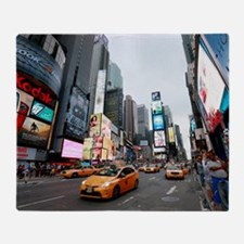 Super! Times Square New York - Pro P Throw Blanket