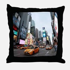 Super! Times Square New York - Pro Ph Throw Pillow
