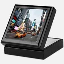 Super! Times Square New York - Pro Ph Keepsake Box