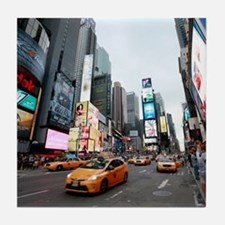 Super! Times Square New York - Pro Ph Tile Coaster