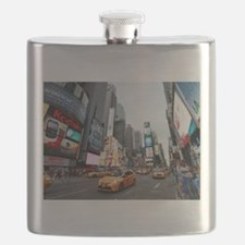Super! Times Square New York - Pro Photo Flask