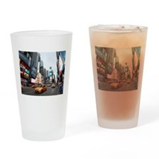 Super! Times Square New York - Pro Drinking Glass