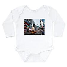 Super! Times Square Ne Long Sleeve Infant Bodysuit