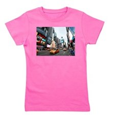 Super! Times Square New York - Pro Phot Girl's Tee