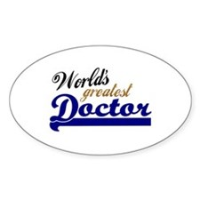Worlds greatest Doctor Decal