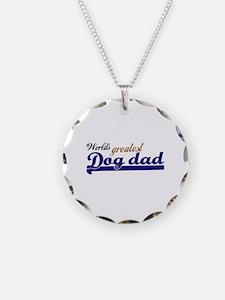 Worlds greatest Dog Dad Necklace