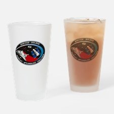 STS-31 Discovery Drinking Glass