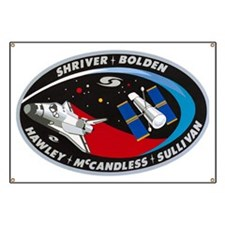 STS-31 Discovery Banner