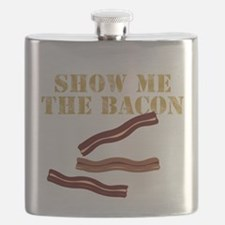 SHOW ME THE BACON Flask