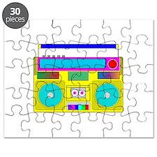 Funky Neon Radio Puzzle