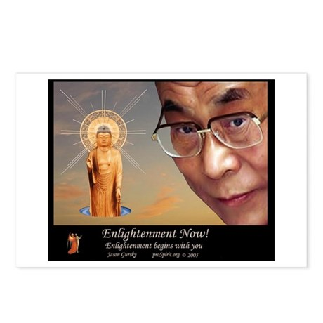 Enlightenment Now! -2- Postcards (Package of 8)