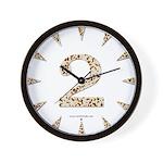 Tortoise Shell 2 Wall Clock