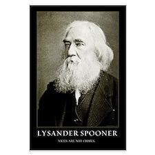 Lysander Spooner Vices Posters