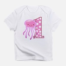 First Birthday Jellyfish Infant T-Shirt