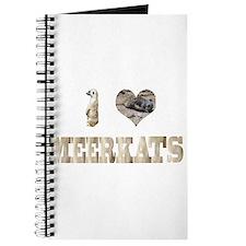 i love meerkats Journal
