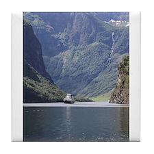 Nærøyfjorden Tile Coaster