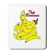 Top Banana Cartoon Mousepad