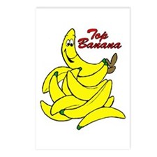 Top Banana Cartoon Postcards (Package of 8)