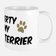 Wire Fox Terrier: Property of Mug