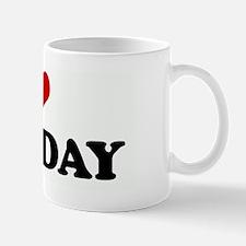 I Love TUESDAY Mug