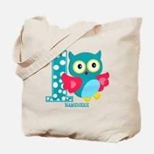Cute First Birthday Owl Tote Bag