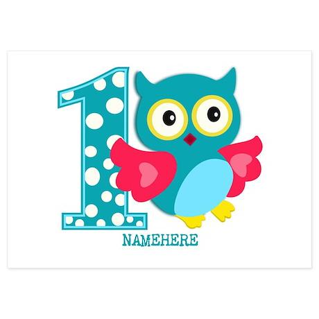 Invitations for Owl Birthday Owl Birthday Announcements CafePress
